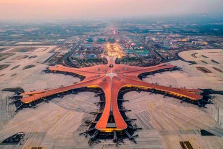 Новости: Аэропорт ввиде морской звезды построили вКитае