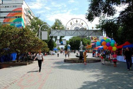 Новости: Алматы: вся улица Жибек жолы будет пешеходной