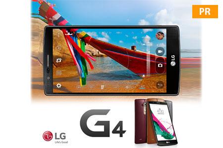 Статьи: LG G4 смартфон для яркого лета!