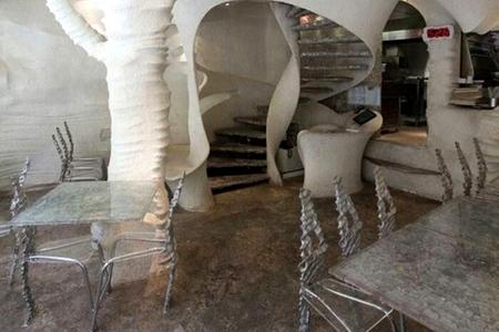 Новости: В Иране построили солёный ресторан