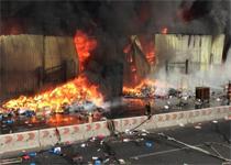 Новости: Снова пожар на алматинском рынке