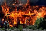 Статьи: Пожар: как спасти себя и своё имущество