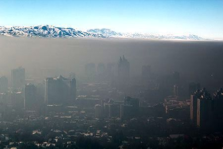 Новости: Воздух в Алматы предлагают фильтровать