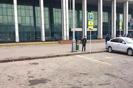 Новости: Вокзалы иаэропорт Алматы очистили откиосков