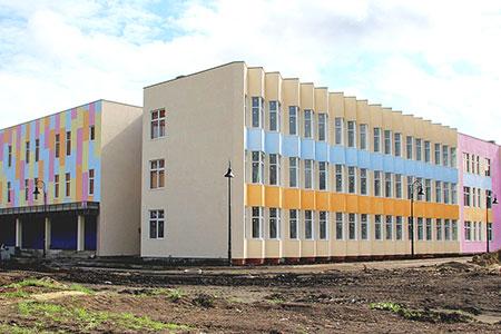 Новости: Новые школу, детсад испорткомплекс откроют вэтом году вАлматы