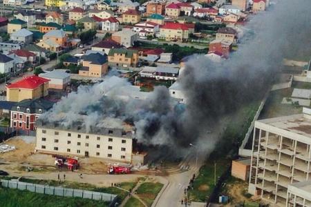 Новости: В столице чуть не сгорела четырёхэтажка