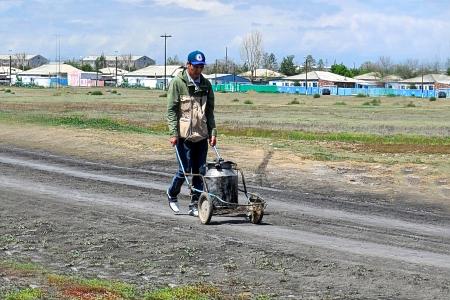 Новости: Починили водопровод, которого нет
