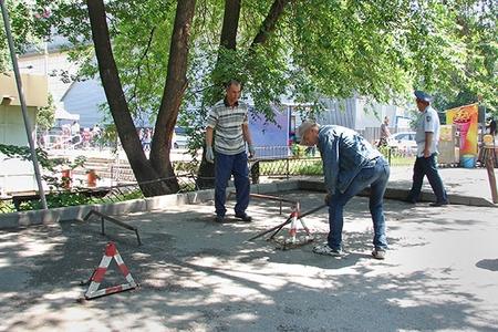 Новости: У алматинцев отобрали «личные» парковки (фото)