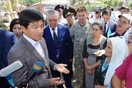 Новости: Аким Алматы пообещал наурызбайцам комфортную жизнь