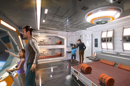 Новости: Отель встиле «Звёздных войн» построили вСША