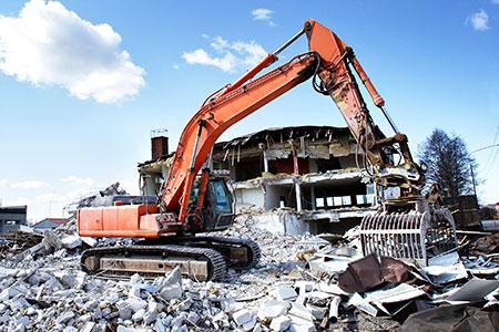 Новости: В Алматы сносят незаконные строения