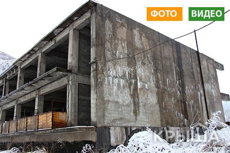 Новости: В Алматы начался принудительный снос недостроенного ресторана