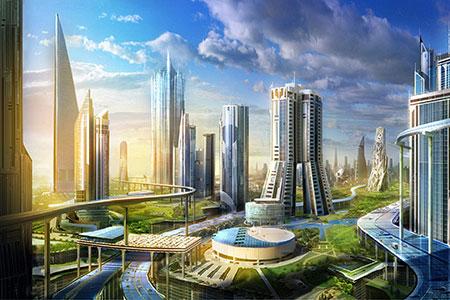 Новости: Город будущего стоимостью $500 млрд появится впустыне