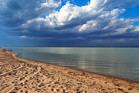 Новости: На берегу Капшагая построят город-курорт Тенгри