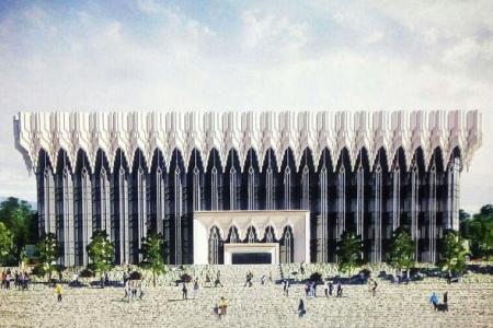 Новости: В Алматы реконструируют здание телецентра