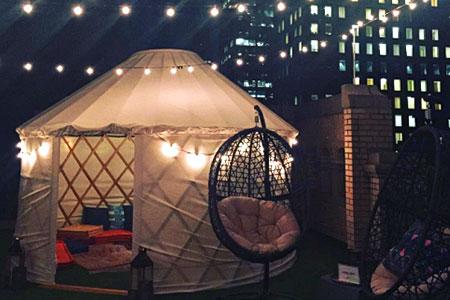 Новости: Отель-юрта открылся в центре Нью-Йорка