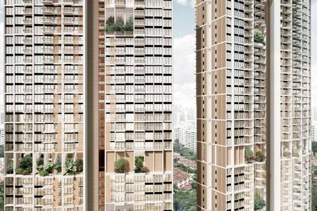 Новости: ВСингапуре построят самые высокие сборные небоскрёбы вмире
