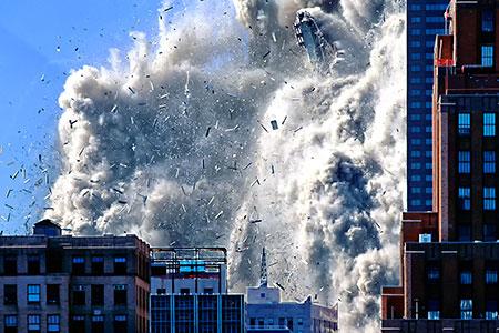 Новости: Японцы научились сносить небоскрёбы без шума ипыли