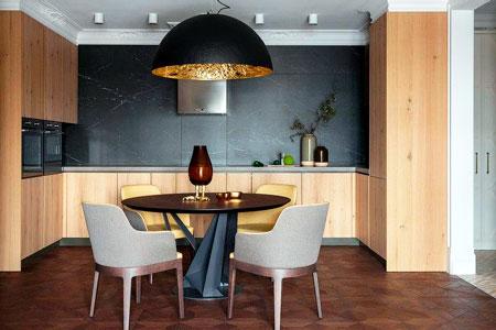 Статьи: Как обустроить кухню-студию