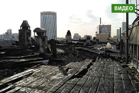 Новости: Вбизнес-центре Астаны, вкотором расположена «Крыша», произошёл пожар