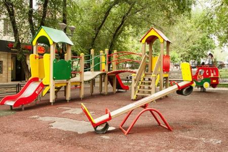 Новости: ВАлматы наместе детской площадки намерены построить автосалон