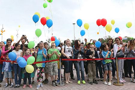 Новости: В Алматы открылся спортивный парк