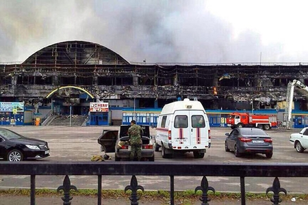 Новости: Сгоревший корпус отстроят заново