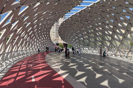 Новости: Мост вНур-Султане выдвинут намеждународную архитектурную премию