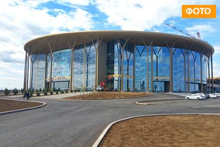 Новости: В столице достроили ледовый дворец