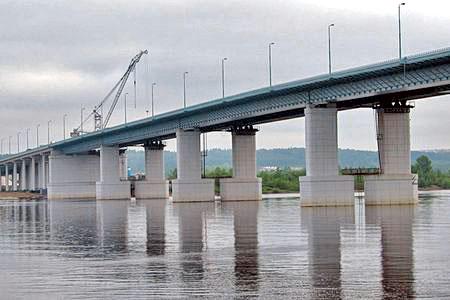 Новости: Через реку Урал перекинут ещё один мост