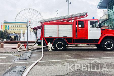 Новости: МВД РК проверит ТРЦ на пожарную безопасность