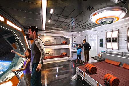 Новости: The Walt Disney построит отель встиле «Звёздных войн»