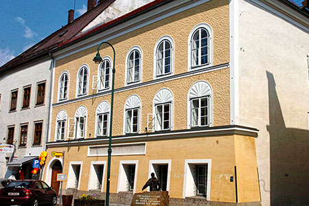 Новости: В Австрии снесут дом Адольфа Гитлера