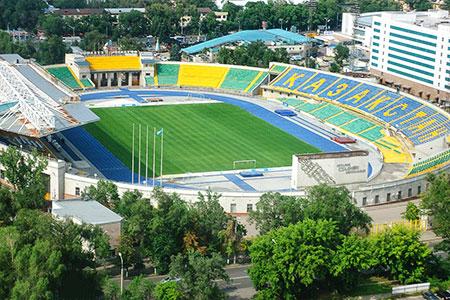 Новости: Центральный стадион Алматы обновят и расширят