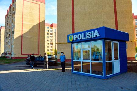 Новости: Вновых ЖКАлматы появятся полицейские пункты