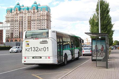 Новости: В Астане изменят схемы движения 10 автобусных маршрутов