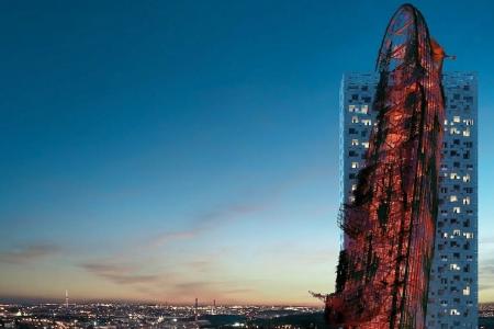 Новости: ВПраге построят небоскрёб с«врезавшимся» вфасад кораблём