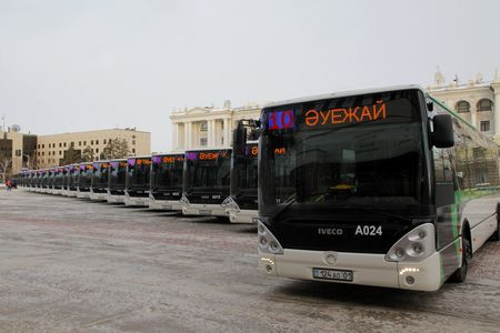 Новости: В столице появились автобусы с кондиционерами и Wi-Fi