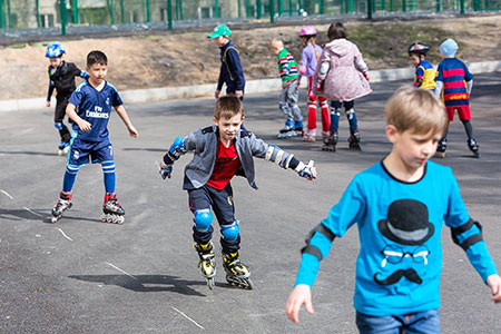 Новости: В лучшем дворе Алматы построят спортивную площадку
