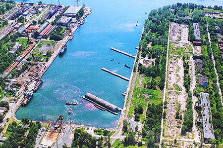 Новости: Морской порт вЛатвии выставлен напродажу