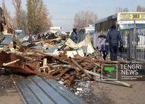 Новости: В Алматы владельцы рынков добровольно освобождают участки