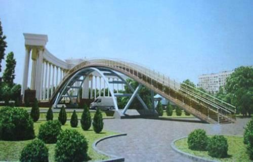 Новости: В Алматы презентовали шесть надземных переходов