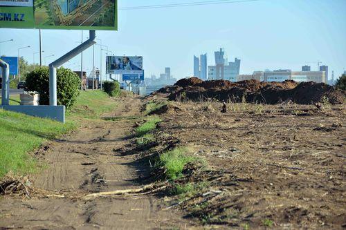 Новости: В Астане началось строительство линии скоростных автобусов (схема, фото)