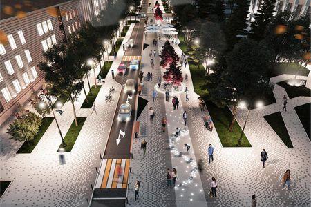 Новости: В апреле в Алматы начнётся реконструкция центральных улиц