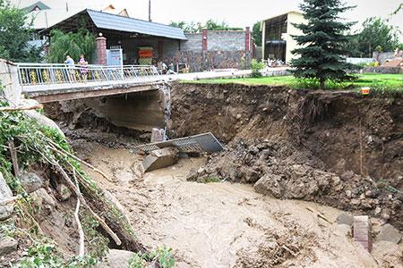 Новости: Власти Алматы успокоят реку Каргалы
