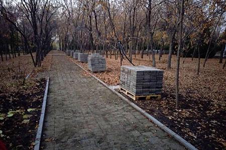 Новости: Акимат снова сдвинул сроки окончания реконструкции парка «Южный»