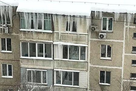 Новости: Алматинцев призвали сообщать ососульках накрышах