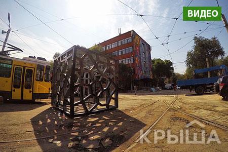 Новости: В Алматы показали процесс трансформации трамвайного депо