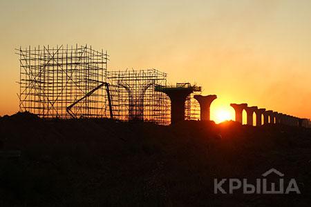 Новости: Строительство ЛРТ в Астане: как выглядит линия сейчас
