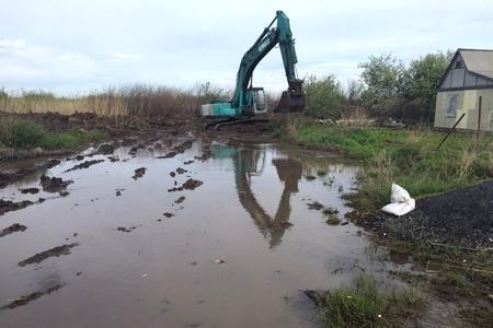 Новости: Дачи на окраине Астаны едва не ушли под воду